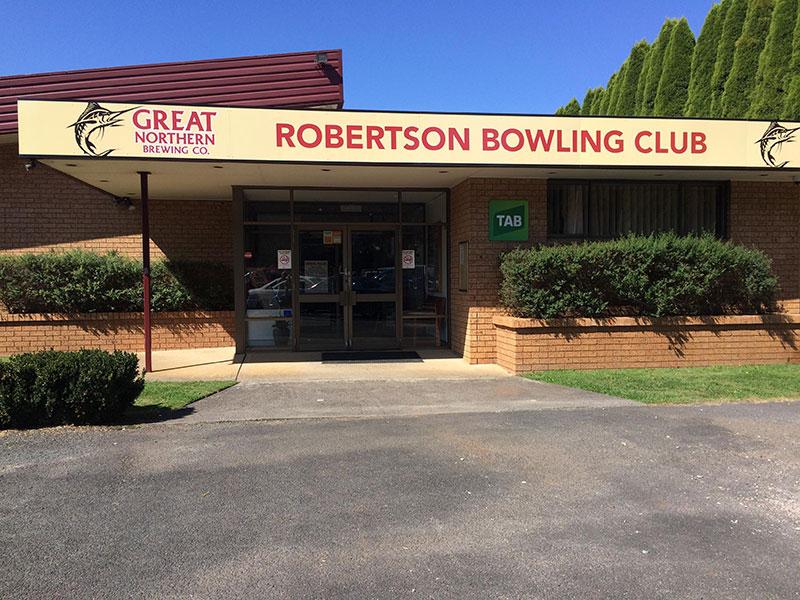 Robertson Bowling Club image
