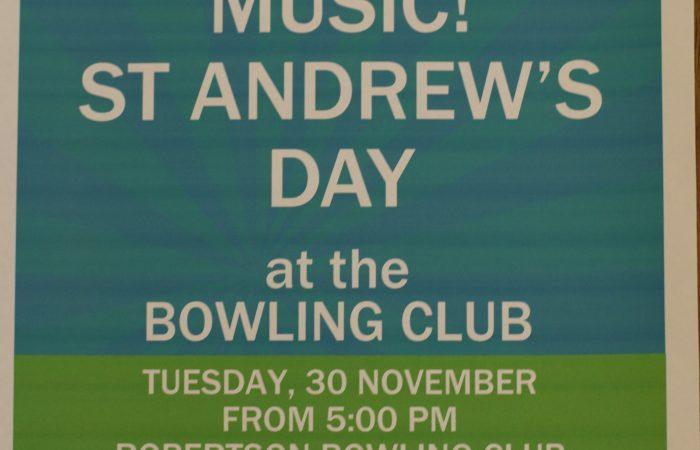 St Andrews Day – Scottish Music